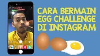 Cara Main Game Easter Egg Challenge di Instagram Stories