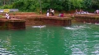 Temple pond of Lokanarkavu Bhagavathi temple
