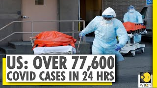 United States records over 3.7 million COVID-19 cases, records highest single-day surge - Download this Video in MP3, M4A, WEBM, MP4, 3GP