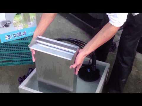 วิธีการประกอบม่านน้ำเยอรมัน