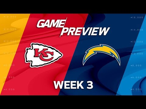 Kansas City Chiefs vs. Los Angeles Chargers | Week 3 Game Preview | Move the Sticks