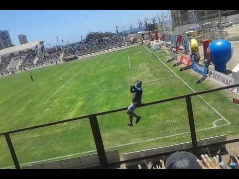 """Himno de iquique"" Barra: Furia Celeste • Club: Deportes Iquique"