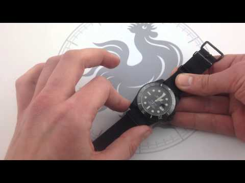 Rolex Pro Hunter Military Stealth Submariner 116610 Luxury Watch Review