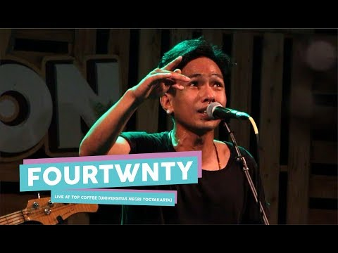 [HD] Fourtwnty - Aku Tenang (Live At TOP COFFEE, Yogyakarta 2017)