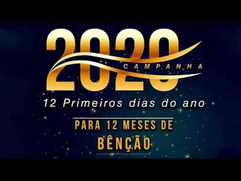 Campanha 12 dias – 10-01-2020 (Pr. Samuel Souza)