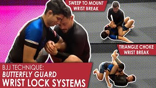 Butterfly Guard | Wrist Lock Systems | Jiu Jitsu technique