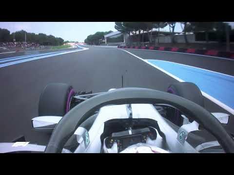 Lewis Hamilton's Pole Lap | 2018 French Grand Prix