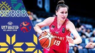 Argentina v Hungary - Full Game - FIBA U17 Women's Basketball World Cup 2018 | Kholo.pk