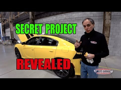 Nick's Secret Project Revealed - Pennzoil & Dodge Team Up
