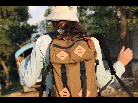 Traveling with Only a Day Pack | Topo Bag Review