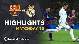 Highlights FC Barcelona vs Real Madrid (0-0)
