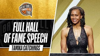 Tamika Catchings | Hall of Fame Enshrinement Speech