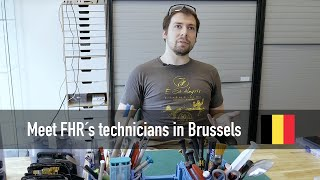 Meet D. Laurent technician from Brussels, Belgium