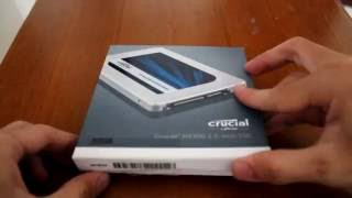 Crucial MX300 275GB SSD unboxing & quick review