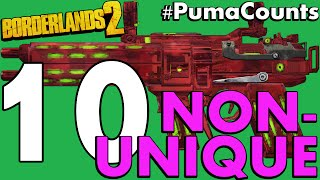 Top 10 Best Non-Unique Guns and Weapons in Borderlands 2 #PumaCounts