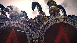 300 Spartans vs 10000 Persians Siege of Sparta Rome 2 Total War