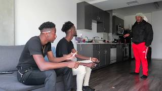 SMOKING IN OUR HOUSE PRANK ON POUDII !!! ** HE GETS MAD**