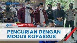Bermodal Celana Loreng, Kopassus Gadungan Bawa Kabur 3 Sepeda Motor di Semarang