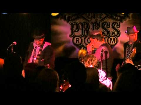 Tangiers Blues Band - Rainy Day Women Blues (LIVE) @ The Press Room