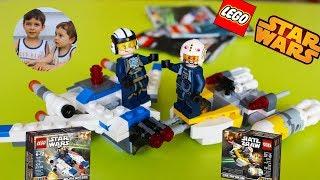 Распаковка Лего Звездные войны Lego Star Wars 75160 и 75162 Развлекательное видео для детей