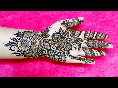 Simple And Stylish Mehndi Design Rakshabandhan And Eid