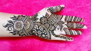 Easy Mehndi Design For Front Hand For Beginners 2018 Funny Videos