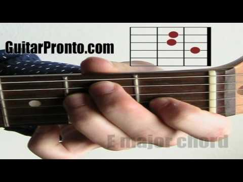 Must know guitar chords - E major chord