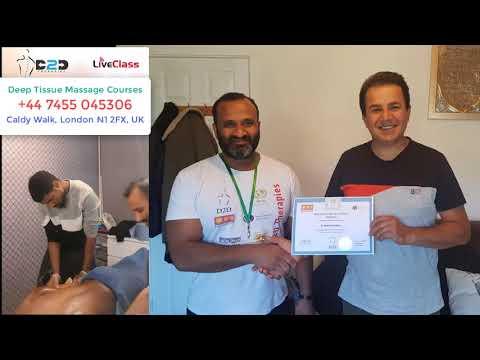 Deep Tissue Massage Courses London School of ... - YouTube