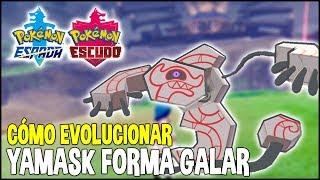 Runerigus  - (Pokémon) - Como evolucionar YAMASK (forma Galar) a RUNERIGUS   Pokemon Espada y Escudo