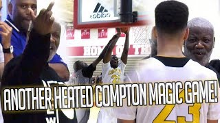 Coach Gets PISSED! Flips Off Parent MID-GAME! Compton Magic vs Earl Watson Was HEATED!
