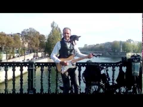 Dogman TV на мосту в Париже (20.09.18)