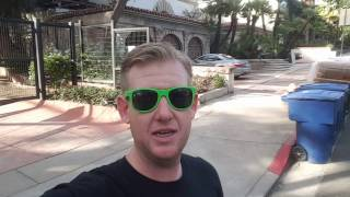 #90 F. Scott Fitzgeralds Death Apartment In Hollywood (11/8/16) Travel Vlog Author Hollywood