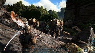 ARK: Thieves Island #4 - Lưu lạc đến lâu đài của Người đá khổng lồ =))