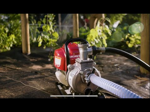 Honda Power Equipment WX10 in Scottsdale, Arizona - Video 1