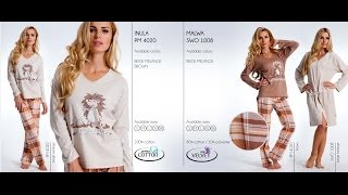 Kolekcja piżam dn nightwear jesień zima 2013 / Collection dn nightwear fall winter 2013