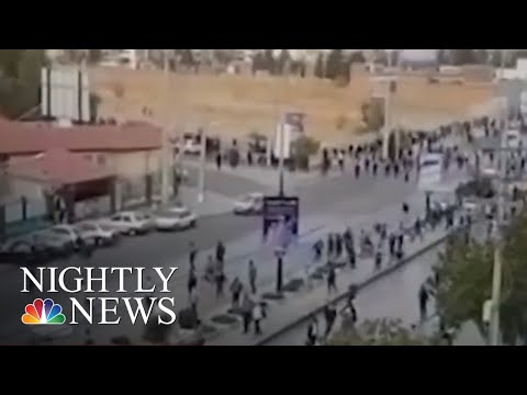 Rights Groups Say More Than 200 Protesters In Iran Shot Dead Over Last Two Weeks | NBC Nightly News