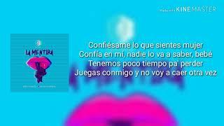 Brytiago X Rafa Pabón   La Mentira (Lyrics)