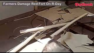 Tractor Rally: Farmers Damage Red Fort On R-Day