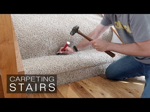 How to Install Carpet on Stairs – how hard is it?