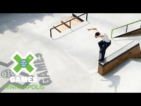 Vincent Milou qualifies first in Men's Skateboard Street   X Games Minneapolis 2018