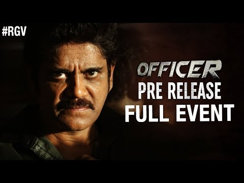 Officer Pre Release Full Event | Nagarjuna | RGV | Myra Sareen | Ram Gopal Varma | #Officer