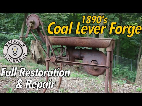 1890's Blacksmith Forge Repair and Restoration