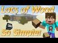 How to make a Wood Farm in Minecraft Simple Minecraft Wood Farm Observer block farm tutorial