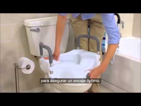 Elevador de inodoro 2 en 1 | TODOMAYORES.ES