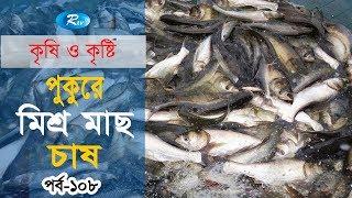 Krishi o Krishti | পুকুরে মিশ্র মাছ চাষ | Ep - 108 | Rtv Lifestyle | Rtv
