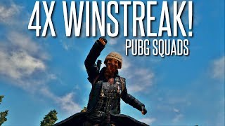 Can we WIN 4 TIMES IN A ROW??? - PlayerUnknown's Battlegrounds