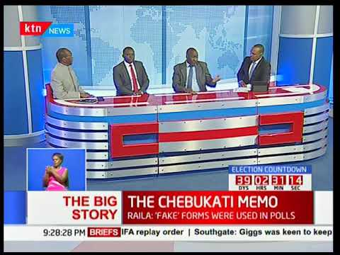 Analysis of the contents of leaked memo written by Wafula Chebukati
