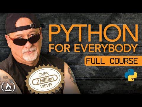 Python for Everybody - Full University Python Course