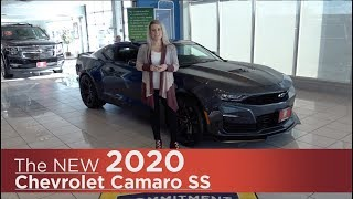 New 2020 Chevrolet Camaro SS | Mpls, St Cloud, Monticello, Buffalo, Rogers, MN | 2020 Camaro Review