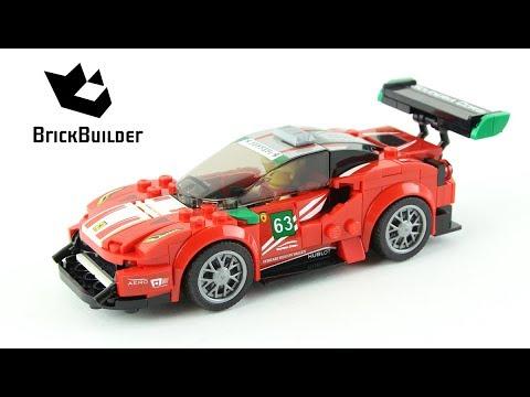 """Vidéo LEGO Speed Champions 75886 : """"Scuderia Corsa"""" Ferrari 488 GT3"""